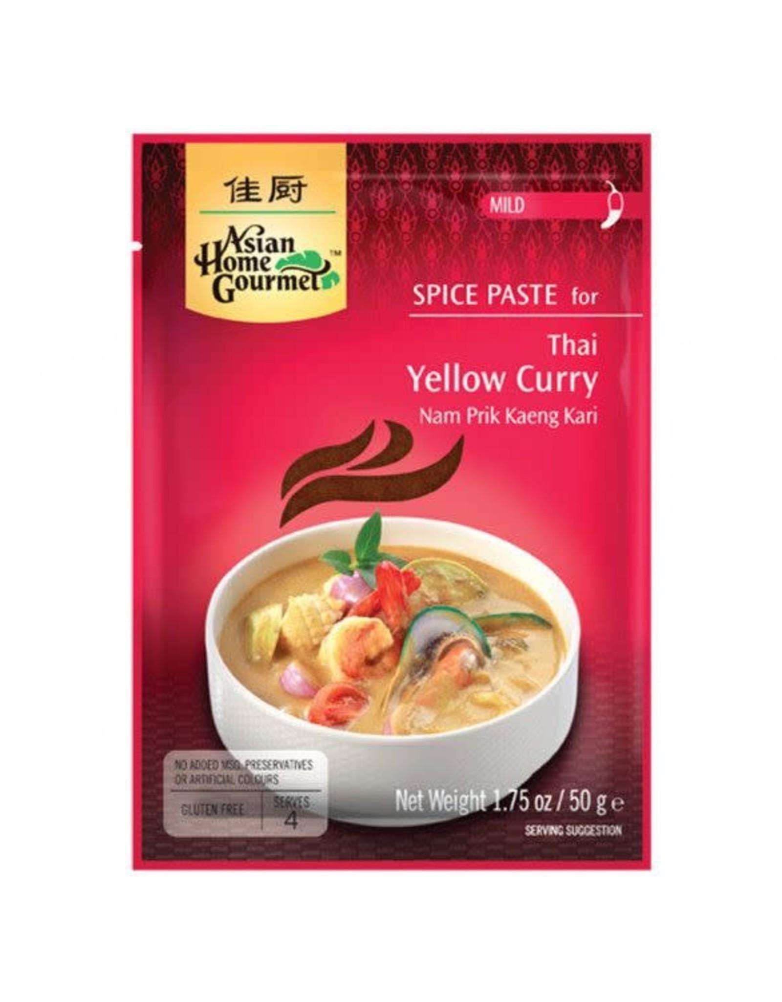 AHG Spice paste Thai yellow curry AHG 50g