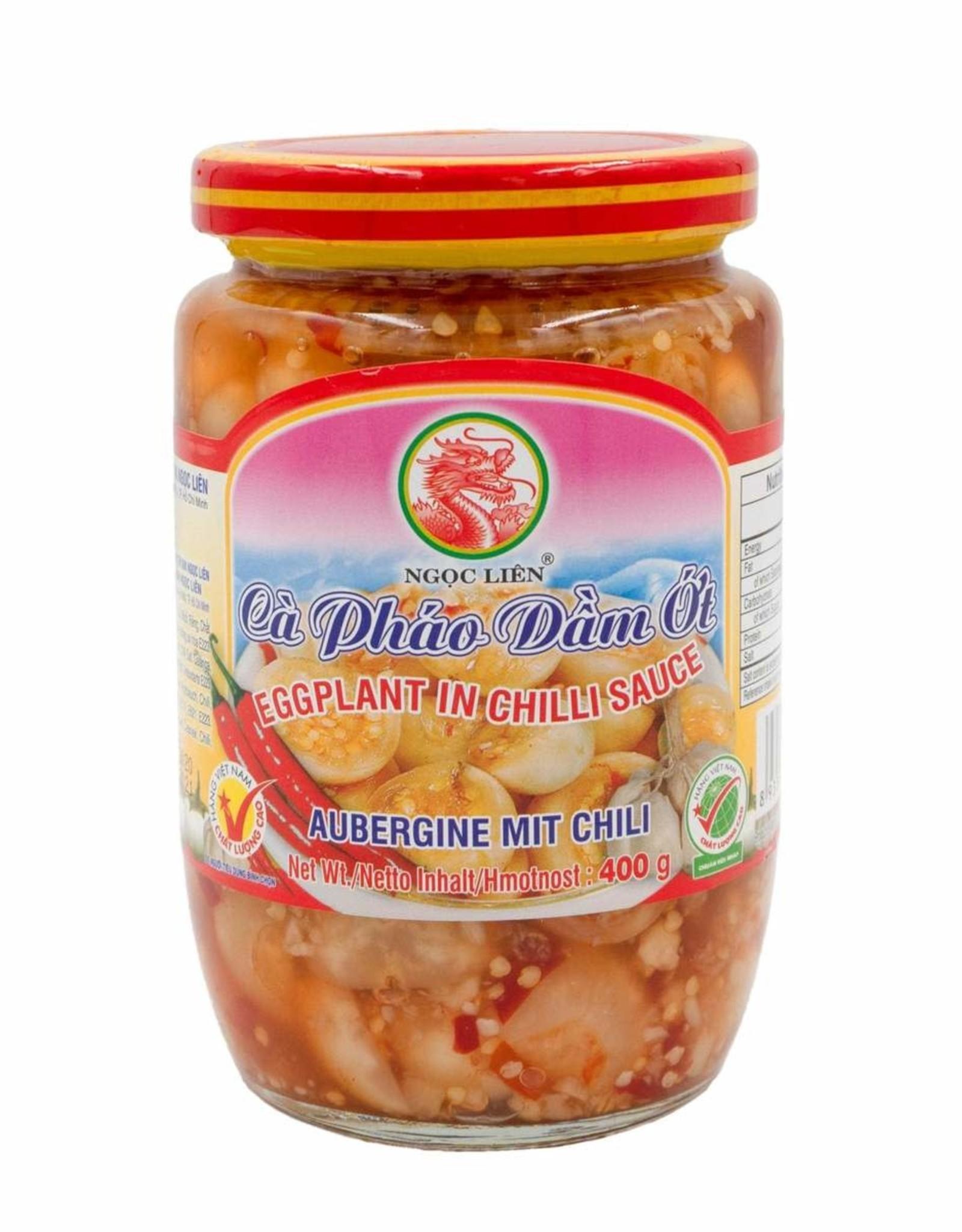 Ngoc Lien Ingemaakte Aubergine En Chili 400 Gr. Ngoc Lien