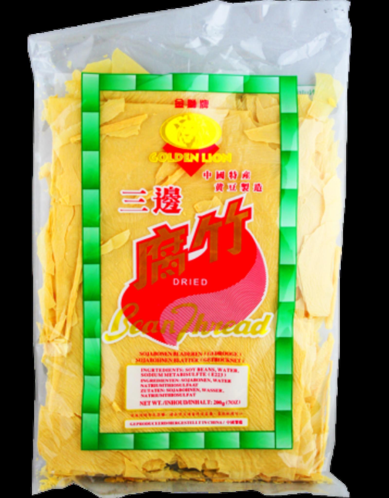 GOLDEN LION Golden Lion Dried Beancurd Sheet 200Gr