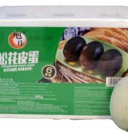 Xu Ri Xu Ri Preserved Duck Eggs 6 Pcs