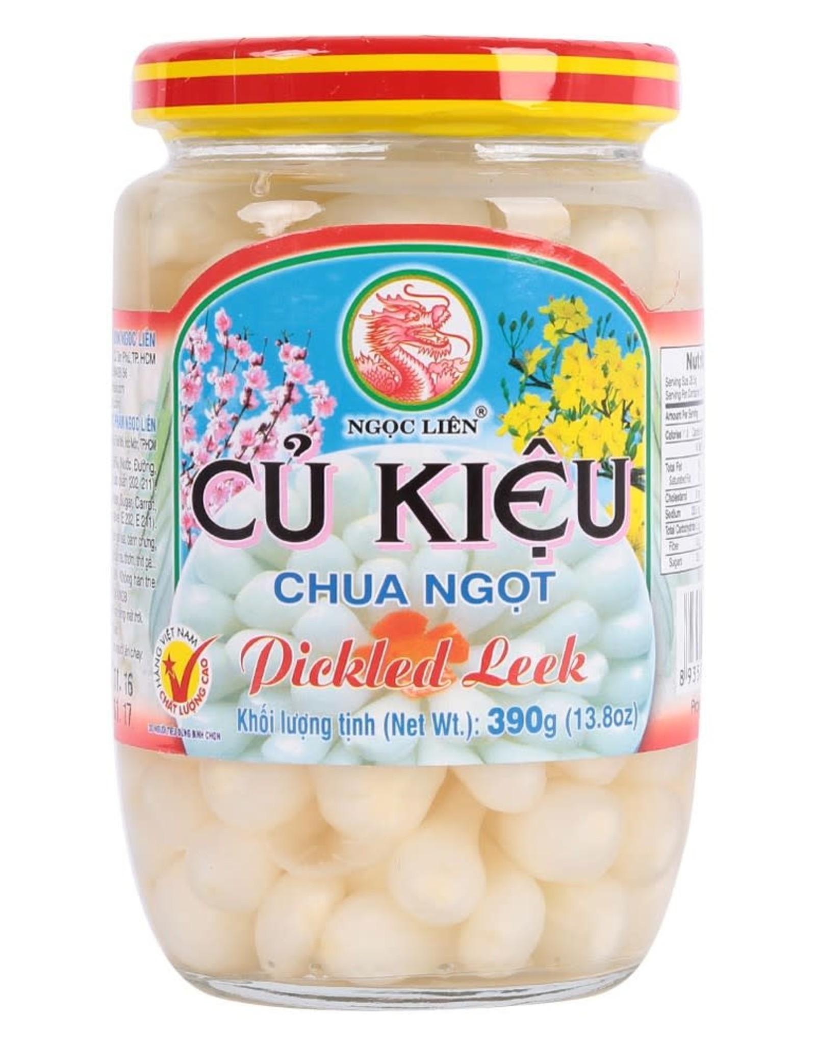 Ngoc Lien Ngoc Lien Pickled Leeks In Vinegar 390G