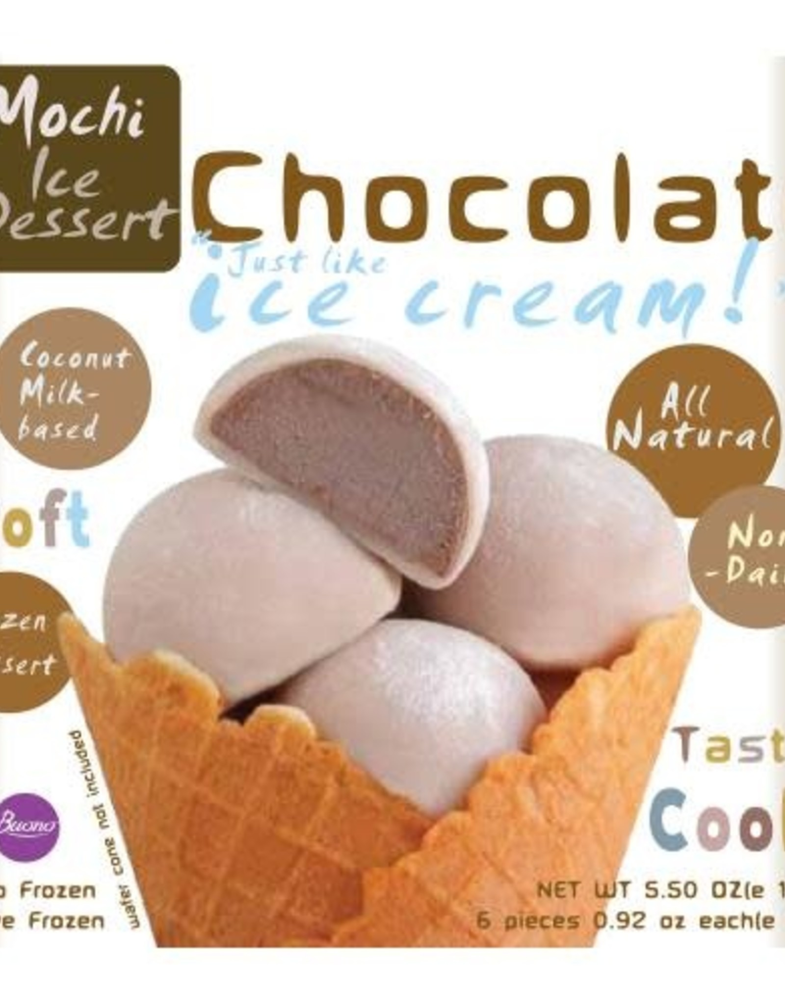 Bouno IJsdessert Mochi Chocolade Bouno 156g