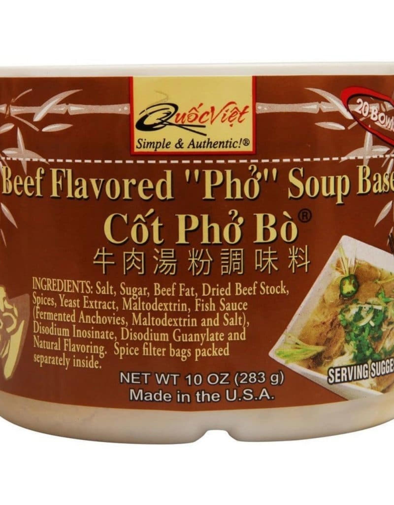 Quoc Viet QV Soep Basis Rundvlees (Pho Bo) 283g