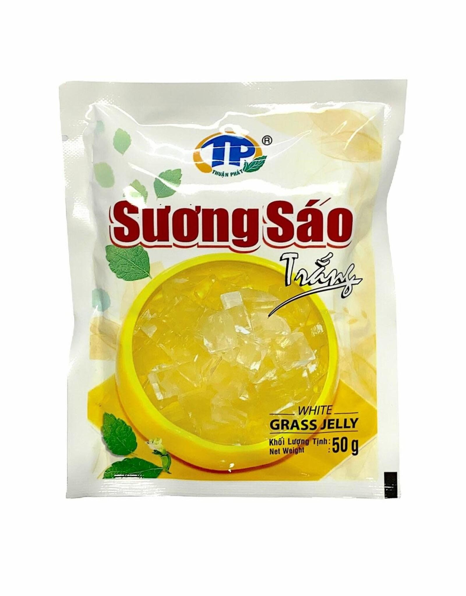 Thuan Phat Grass Jelly Powder WHITE/Suong Sao Trang 50g