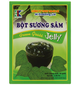 3K Green Grass Jelly/ Bot Suong Sam 30g