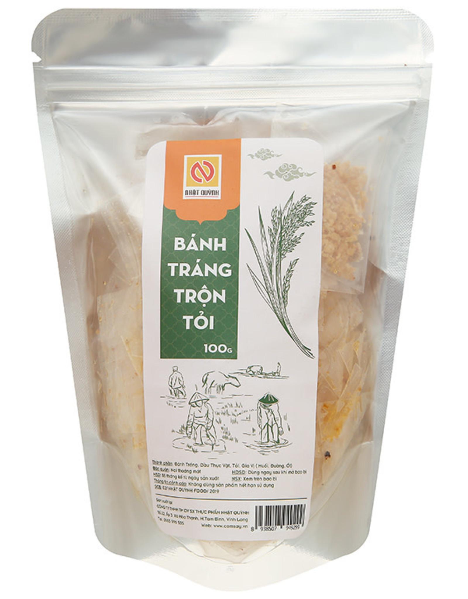 Nhat Quynh Rice paper Mix Garlic/ Banh Trang Tron 100g