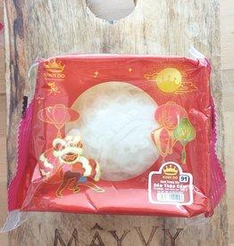 Witte Mooncake Gemengde Vulling Met Ei 180g