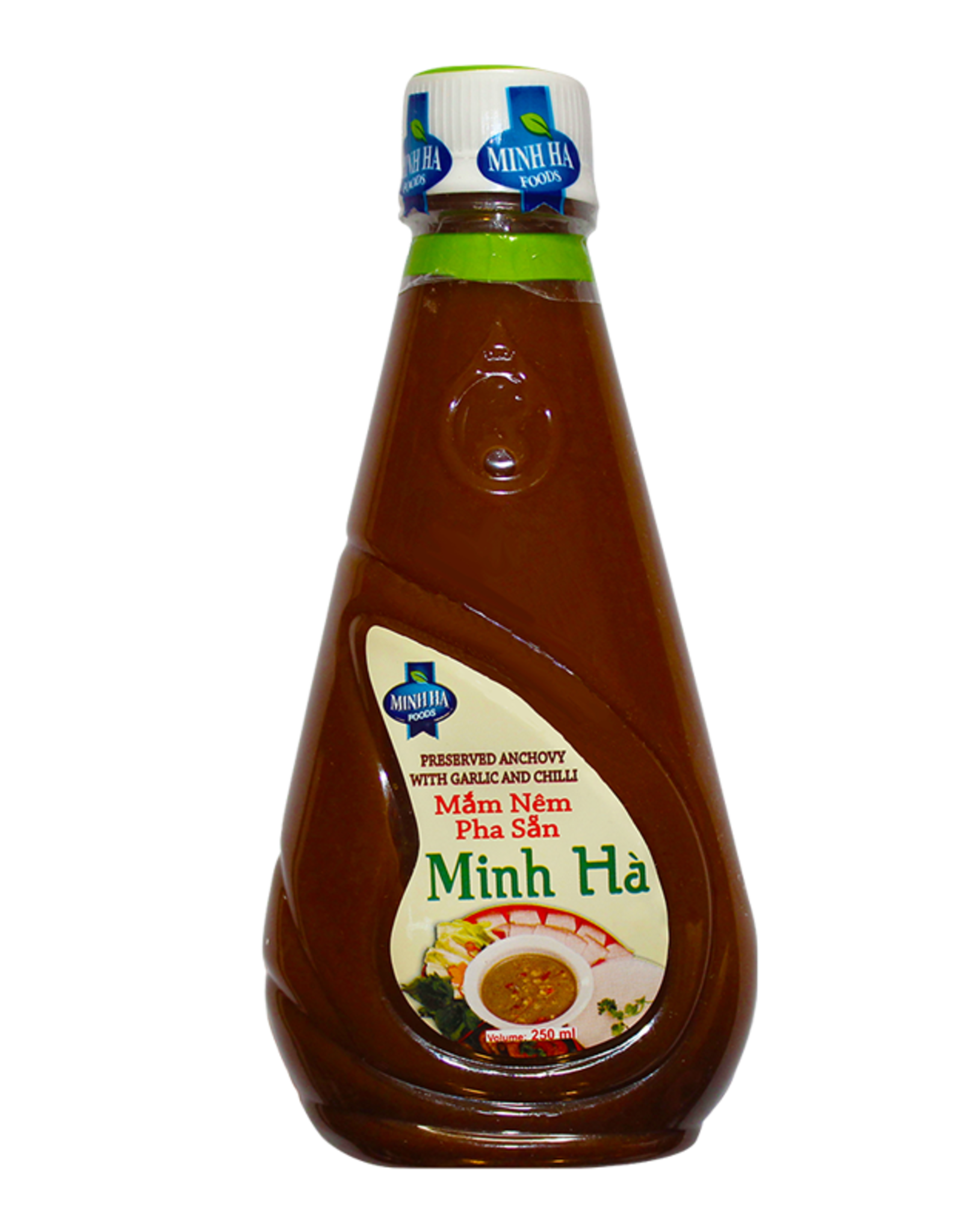 Minh Ha Presv. Grounded Anchovy w. Garlic & Chili 250ml
