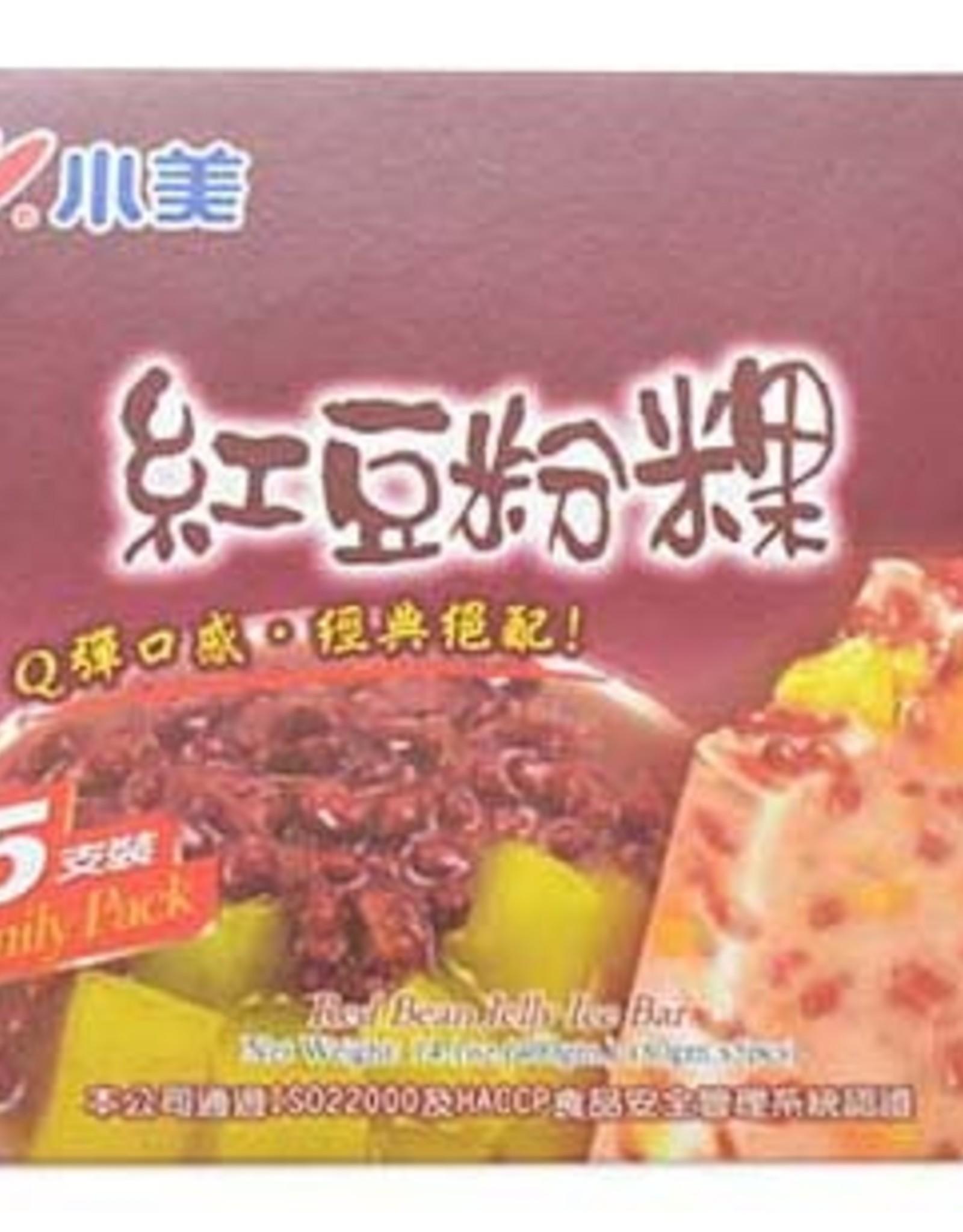 Rode Boba ijsjes