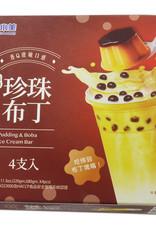 Pudding Boba ijsjes