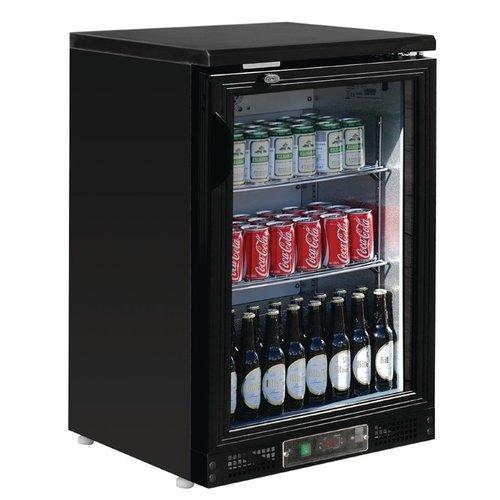 Polar G-serie 1-deurs gekoelde bardisplay zwart 104 flessen