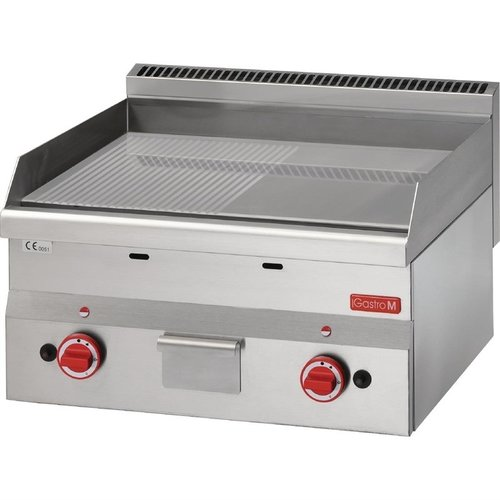 Gastro M Gastro M 600 gas bakplaat 60/60 FTRG-CR