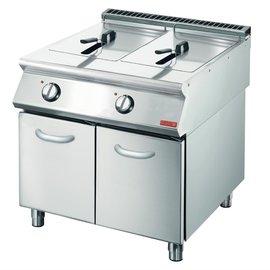 Gastro M Gastro M 700 elektrische friteuse 2x 10L 70/80 FRE