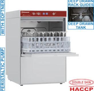 D281/6-A Glazenwasser vierkante mand 400x400 mm + waterverzachter