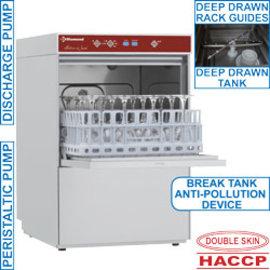 Diamond D281/6B Glazenwasser vierkante mand 400x400mm + anti-vervuiling voorziening type AB (Break Tank)