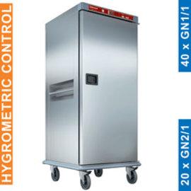 Diamond CTH20-EK Verwarmde wagen voor maaltijden, 20 GN 2/1, gecontroleerde bevochtiging.