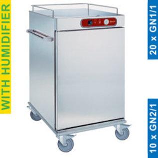 Diamond CCE10 Wagen temperatuurbehoud van de maaltijden, 10 GN 2/1