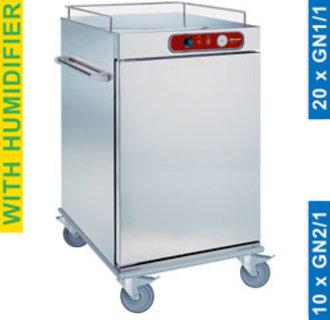 CCE10 Wagen temperatuurbehoud van de maaltijden, 10 GN 2/1