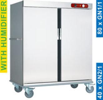 CCE40 Wagen temperatuurbehoud van de maaltijden, 40 GN 2/1