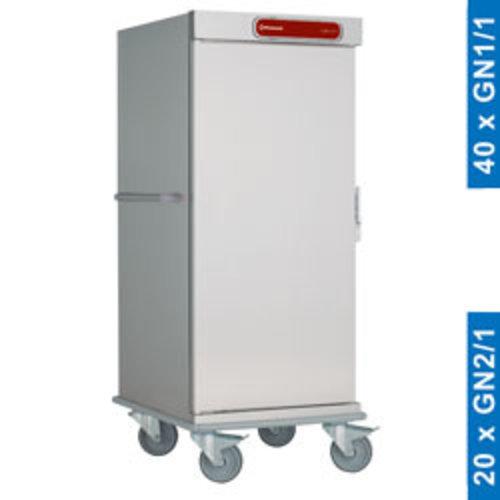 Diamond CNS20 Neutrale wagen voor maaltijden, 20 GN 2/1