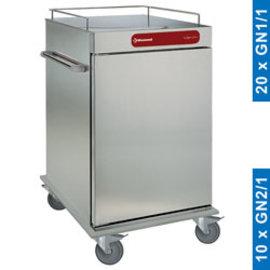 Diamond CNS10 Neutrale wagen voor maaltijden, 10 GN 2/1
