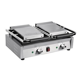 Buffalo Bistro dubbele contactgrill groef/groef