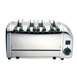 dualit Dualit sandwich toaster 4 sleuven RVS 41036