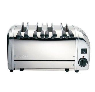 Dualit sandwich toaster 4 sleuven RVS 41036