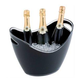 APS Champagne Bowl | Zwart | Max. 3 Flessen