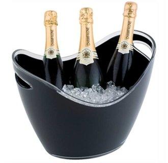 Champagne Bowl | Zwart | Max. 3 Flessen