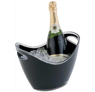 Champagne Bowl | Zwart | Max. 2 Flessen