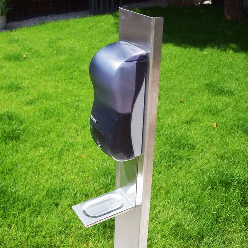 Sivanco Automatische inox dispenserzuil