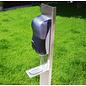 Automatische inox dispenserzuil