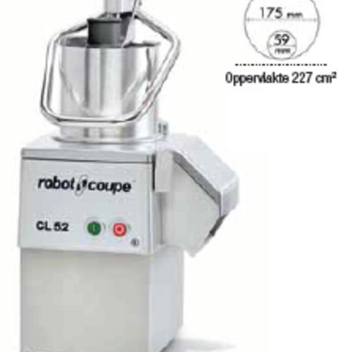Robot Coupe Robot Coupe Groentesnijder CL52 400V, Snelheid 375 tpm