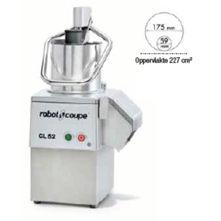 Robot Coupe Robot Coupe Groentesnijder CL52 230V, Snelheid 375 tpm