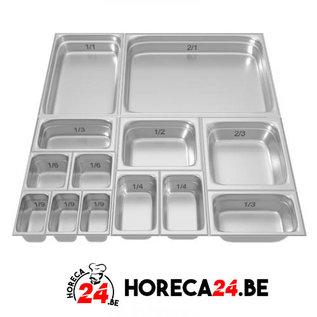 GN containers bakken 1/9 series