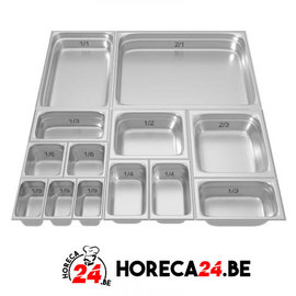 GN containers bakken 2/4 series