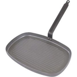 De Buyer De Buyer Carbone Plus Grillpan, 38x26cm
