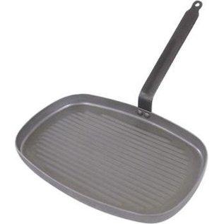 De Buyer De Buyer Carbone Plus Grillpan, 38x26cm