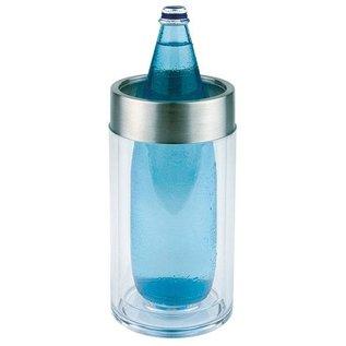 Flessen koeler 11.5cm h23 acryl glass