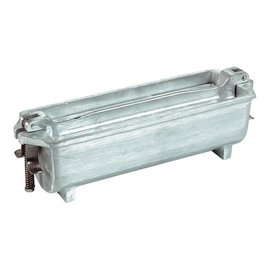 emga PATE VORM - gegoten aluminium, halfrond