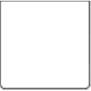 emga PATE VORM - gegoten aluminium, vierkant