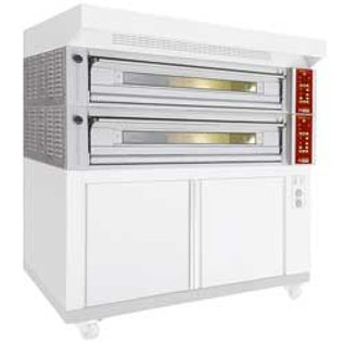 Diamond Elektrisch modulair oven 3 platen, capaciteit 3x 600x400 mm FT3M-18