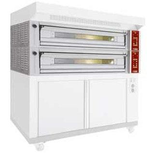 Diamond Elektrisch modulair oven 4 platen, capaciteit 4x 600x400 mm FT4M-18