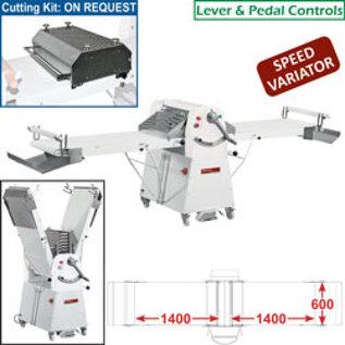 Diamond Band-uitroller op voetstuk, 600x1400 mm - Variabele snelheid LM/60-140VV