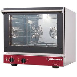 Diamond Elektrische convectieoven, 4x 460x340 mm BRIO43/X-P