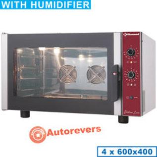 Diamond Elektrische convectieoven 4x 600x400 mm + manuele bevochtiger CPE644-P-230/1-