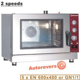 Diamond Elektrische convectie oven 5x EN (GN) met automatische bevochtiger PFE-52/P