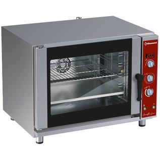 Diamond Elektrische convectie oven 5x EN (GN) met automatische bevochtiger PFE-52/S