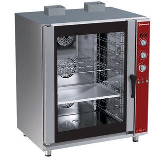 Diamond Convectie oven op gas, 10x EN(GN) automatische bevochtiger PFG-102/S